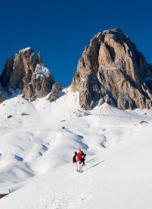 Wunderbare Heilige drei Könige, umgeben von den Dolomiten