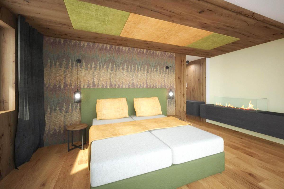 Camere Suite Hotel Ladinia Dolomites View
